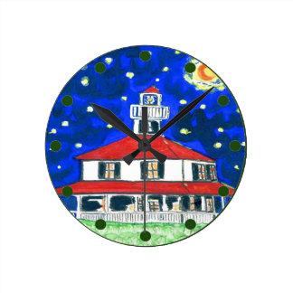 Reloj del faro del lago new Orleans