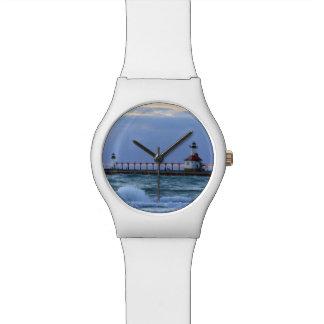 Reloj del faro May28th del St. Joe
