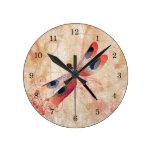 Reloj del Flourish de la libélula