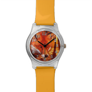 Reloj del Fox rojo May28th