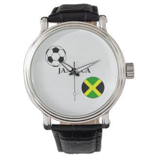 Reloj del fútbol de Jamaica