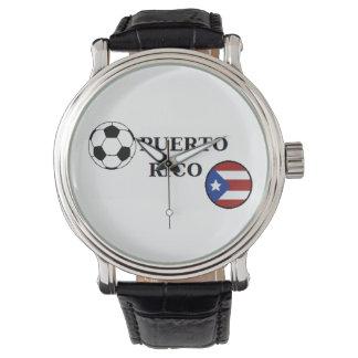 Reloj del fútbol de Puerto Rico
