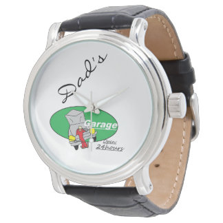 Reloj del garaje del papá