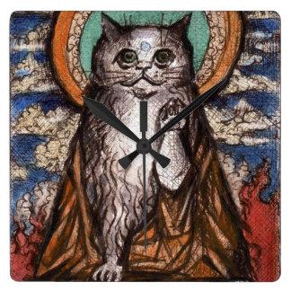 Reloj del gato de Maneki Neko