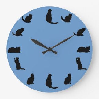 Reloj del gato negro