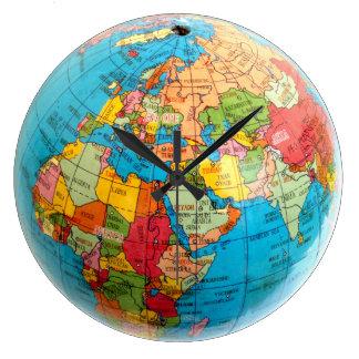 Reloj del globo