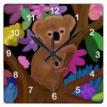 Reloj del hábitat de la koala