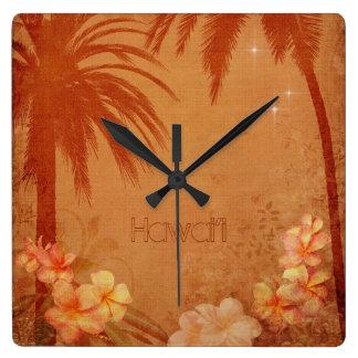 Reloj del Hawaiian del vintage