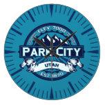 Reloj del hielo de Park City