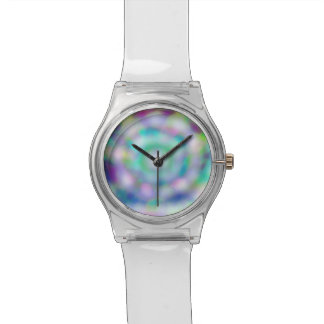 reloj del hielo del arco iris