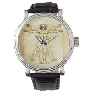 Reloj del hombre de Vitruvian