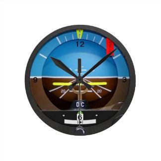 Reloj del horizonte artificial