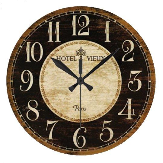 Reloj del hotel de París