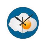reloj del huevo frito