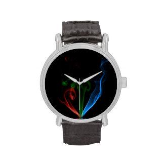 Reloj del incienso del RGB