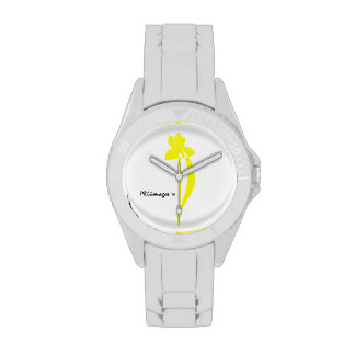 Reloj del iris amarillo de PRLimages