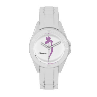 Reloj del iris de la lavanda de PRLimages