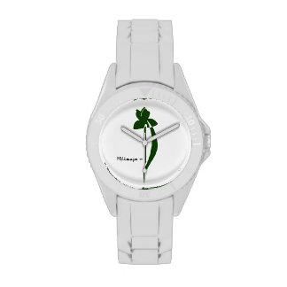 Reloj del iris de PRLimages Forest Green