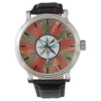 Reloj del jaspe
