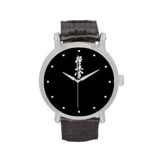 Reloj del karate de Kyokushin