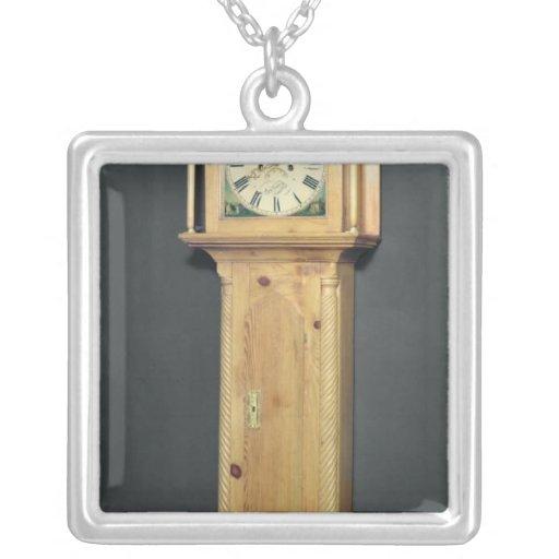 reloj del Largo-funda, con la pintura del esmalte Grimpola Personalizada