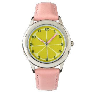 Reloj del limón