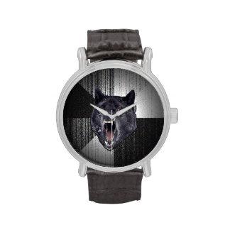 Reloj del lobo de la locura