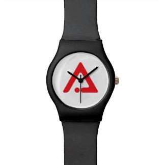 Reloj del logotipo de AAI