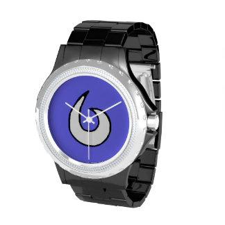 Reloj del logotipo de la bahía de Buda
