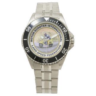 Reloj del logotipo de MSILSF