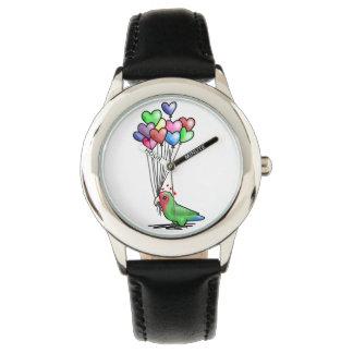 Reloj del Lovebird