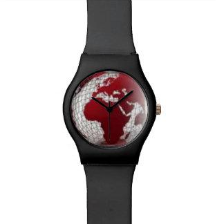Reloj del mapa de África