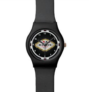 Reloj del microprocesador de Black Jack del casino