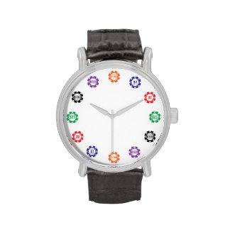 Reloj del microprocesador del casino