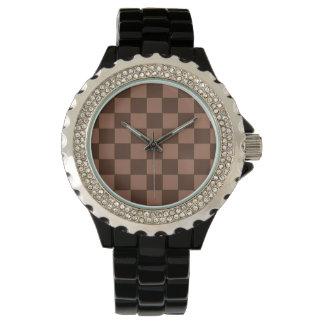 Reloj del modelo del tablero de Brown