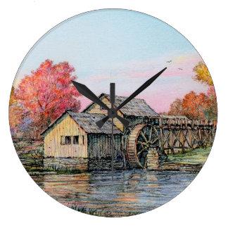 "Reloj del molino de Paul McGehee ""Mabry"""