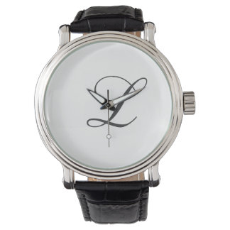 Reloj del monograma