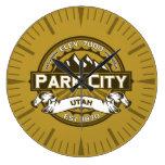 Reloj del moreno de Park City