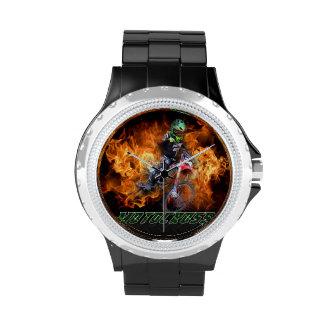 Reloj del motocrós