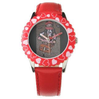 Reloj del muchacho de Dirtbike