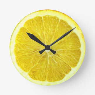 Reloj del naranja de la Florida