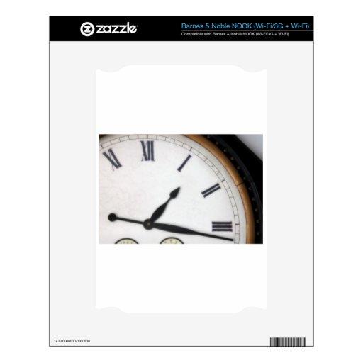 Reloj del número romano del vintage calcomanías para NOOK