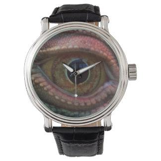 Reloj del ojo del lagarto