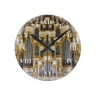 Reloj del órgano de Merseburg con los números