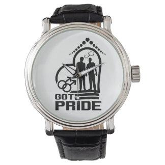 Reloj del orgullo