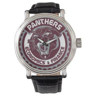 Reloj del orgullo de la pantera de HSEF