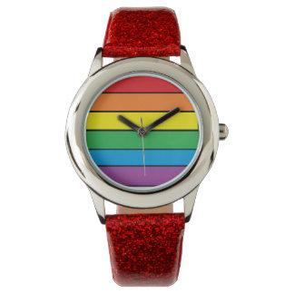 Reloj del orgullo gay