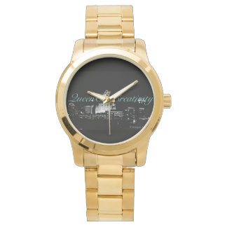 Reloj del oro de los hombres por