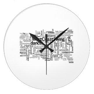 Reloj del oscilación de la costa oeste