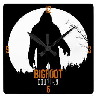 Reloj del país de Bigfoot